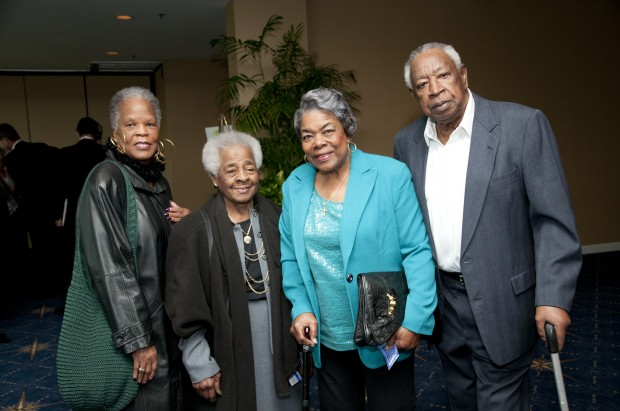 Delores Scales, Rausby Edwards, Geneva and Alvin Duvall