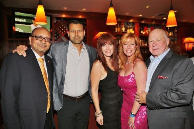 Shy Patel, Dr. Amod Paranjpe, Tamara Hartz, Janet and Larry Conners