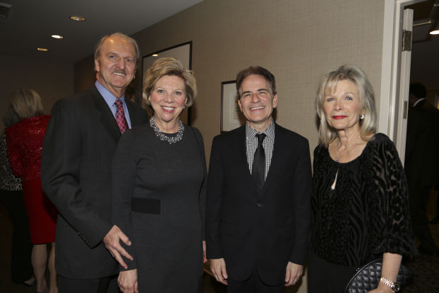 Bill and Marsha Rusnack, Fred Bronstein, Noemi Neidorff