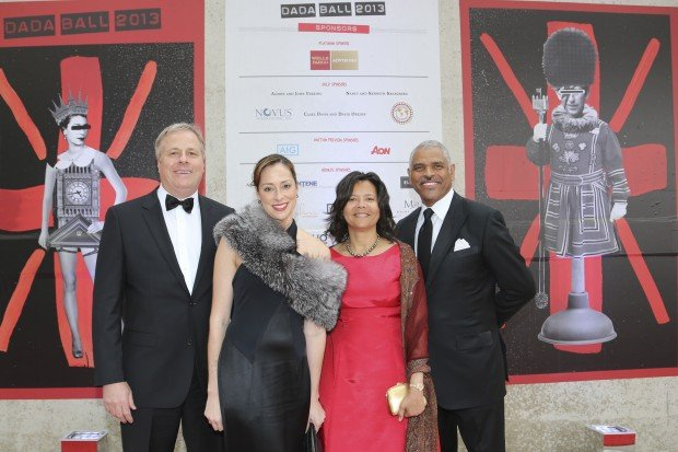 David Drier, Christina Gerber, Hazel and Arnold Donald