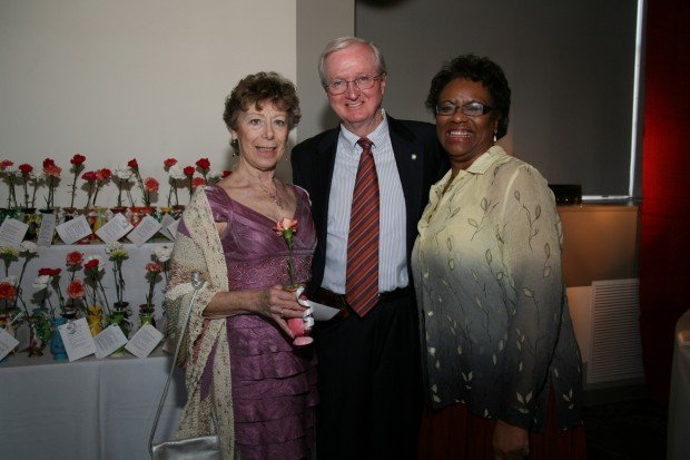 Anita and Dan Sullivan, Gail Watkins