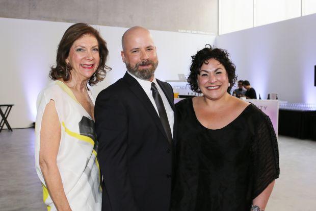 Phyllis Langsdorf, Jordan Gaunce, Lisa Melandri