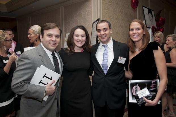 Todd and Sarah Kaye, Omar and Corinne Qureshi
