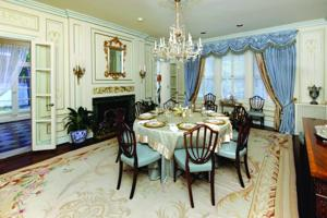 22 Westmoreland Place dining room