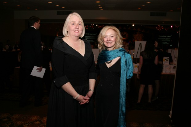 Eileen McCann and Gail Appleson