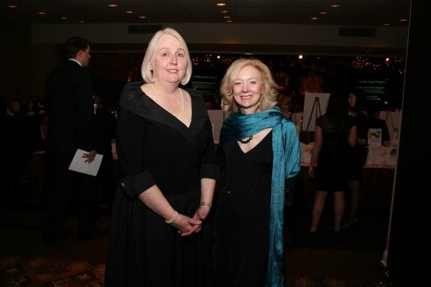 Eileen McCann and Gail Appleson