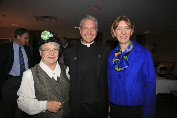 Sr. Susan Borgel, Fr. Mitch Doyen, Ann Vazquez