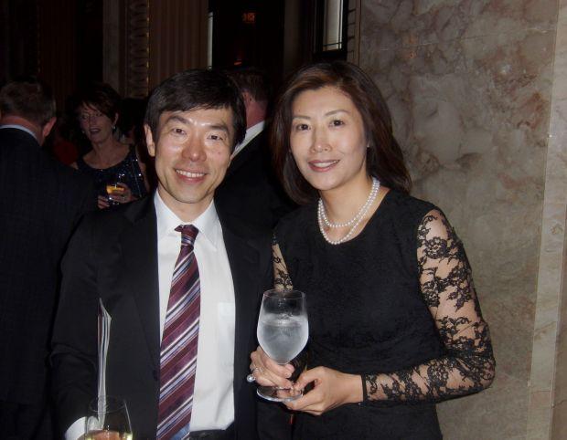 Dr. Fumi and Yoko Urano