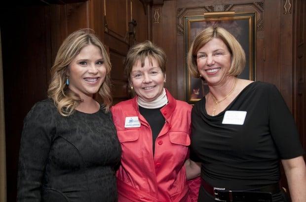Jenna Bush-Hager, Maureen Herrmann, Trudy Busch-Valentine