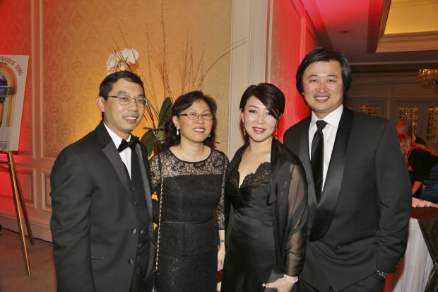Charles and Judy Lieu, Shirley Joo, James Lu