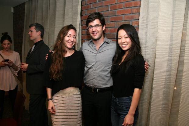 Ann Fink, Nathan Schram, Helen Kim