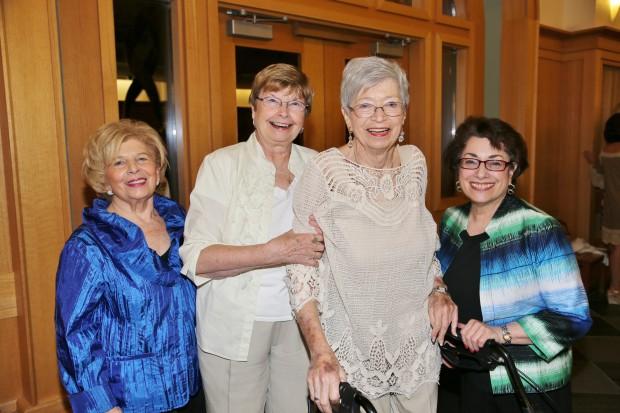 Eileen Edelman, Virginia Kell, Lois Caplan Miller, Arlen Chaleff