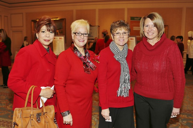Colleen Wilkerson, Dr. Kimberly Perry, Annette McCauley, Maryann Eissler