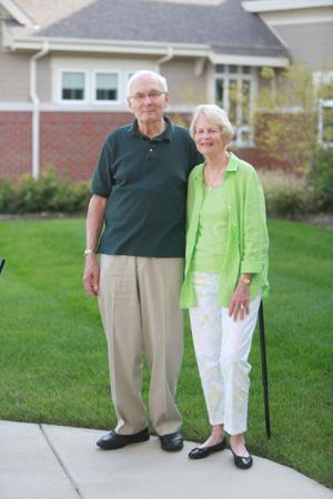 Bill and Jean Lange
