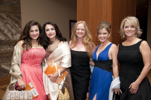 Nina Abboud, Della Abboud, Sydne Siefert, Mary Kennedy, Lisa Hunt