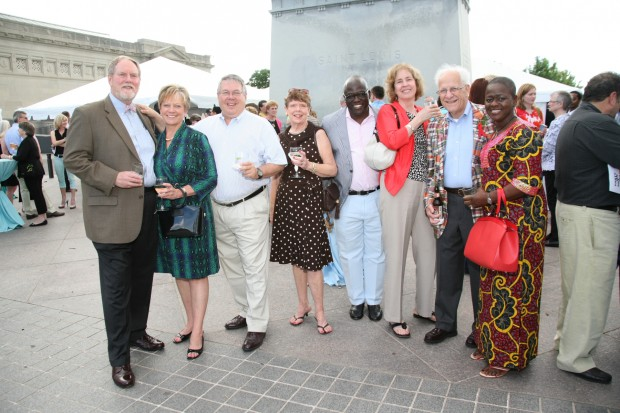 David Weiss, Judy Burch, John Nickel, Alice Sargent, Benjamin Akande, Christy Nickel, Peter Sargent, Bola Akande