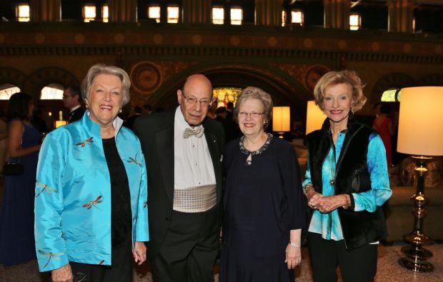 Karen Crebs, Norton and Shirley Kronemer, Jo Werner