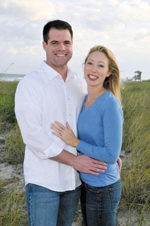 Megan Pflueger and Thomas Cloar