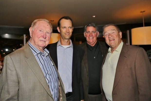 Red Schoendienst, Bill DeWitt III, Mike Shannon, Whitey Herzog