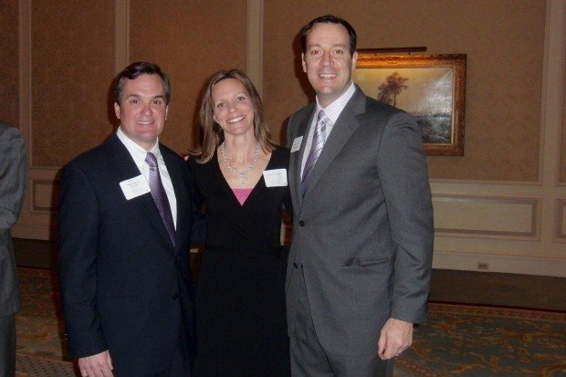 Patrick Buehring, Alyson and Mike Schoedel