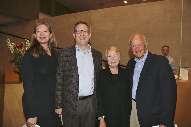 Kellie Hynes, Bob Guller, Ann and Don Kornblet