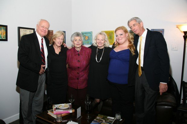 Bob Posegate, Colleen Mills, Jo Fischer, Carol Posegate, Courtney and George Mills