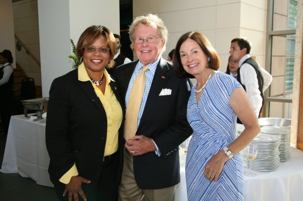 State Senator Nasheed Jamilah, Bill Seidhoff, Mary Ellen Cotsworth