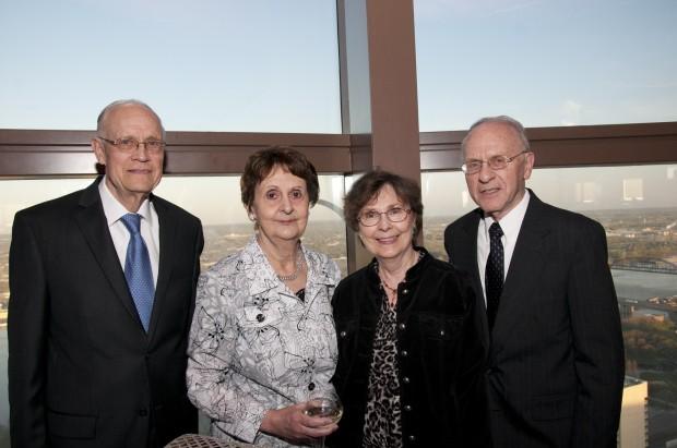Bernie and Judy Duda, Rosemary and Frank Duda