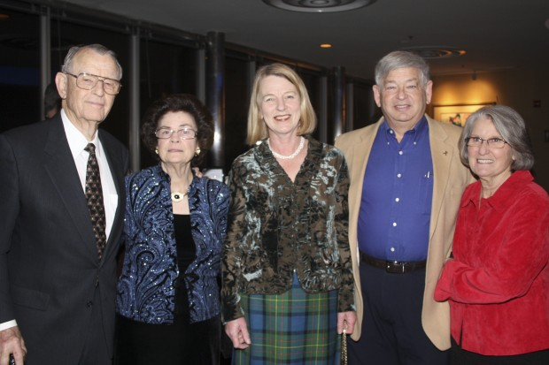 Will and Hellen Carpenter, Anne McClaren, Joel and Carol Kamil