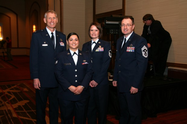 David Almand, Paula Coleman USAF, Jennifer Schmeisser, Marty Anderson