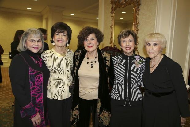 Carolyn Furfine, Eveie Noon, Ruth Sobel, Diane Gallant, Rachel Miller