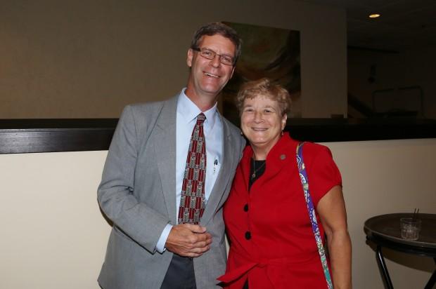Gene Behrmann, Sr. Janise Berberich