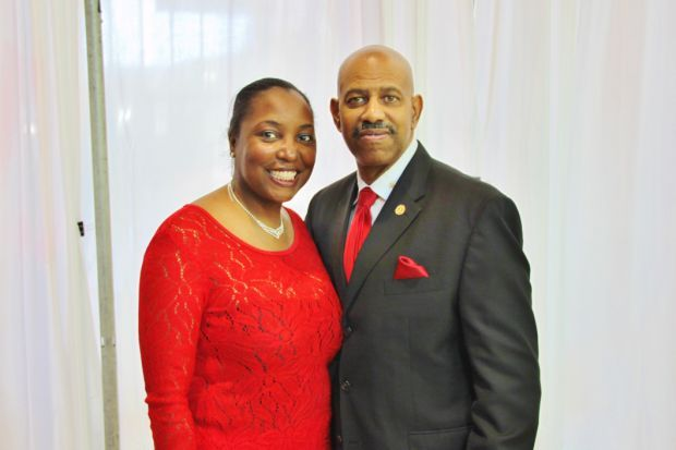 Dr. Shawni and Kevin Triggs