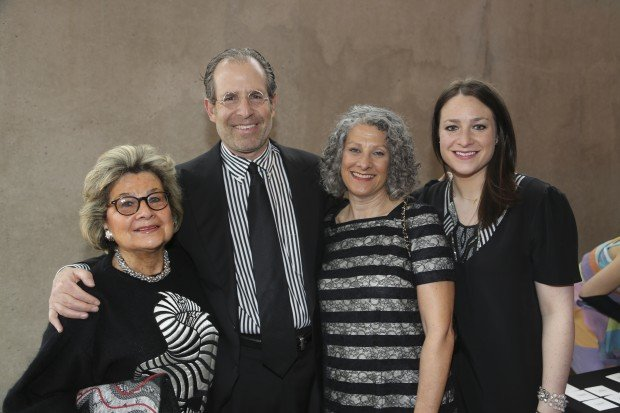 Barbara Goodman, Michael, Carol and Rachael Staenberg