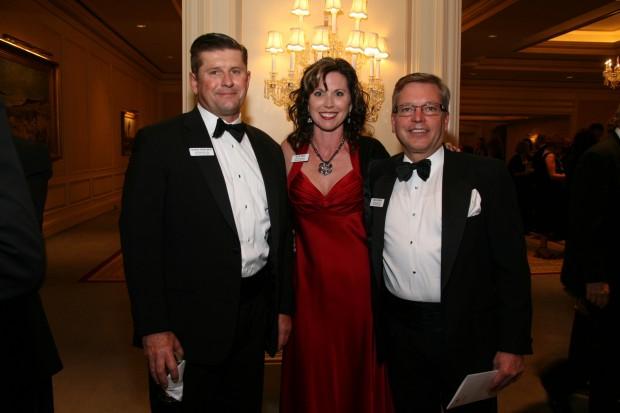 Charlie Medelberg, Julie Reed,  Bill Jenkins