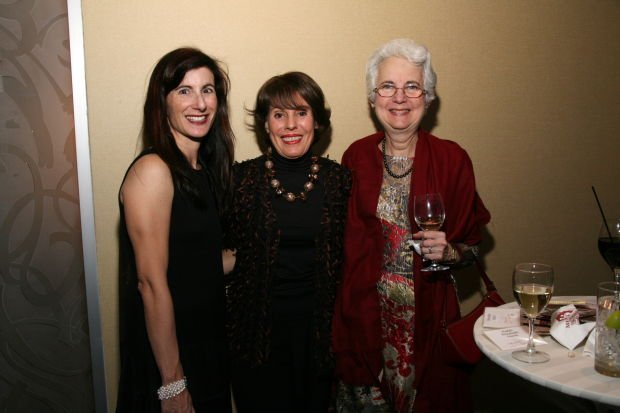 Rabbi Elizabeth Hersh, Marylen Mann, Rosalyn Lowenhaupt