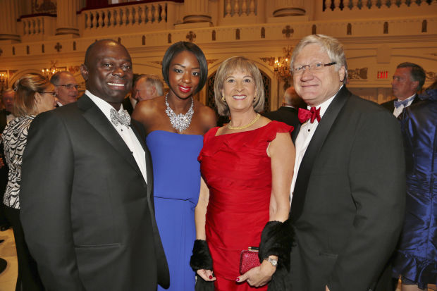 Larry Thomas, Latoya Tompson, Cheri and Ron Fromm