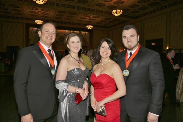 Travis and Lindsay Selner, Nikki and Chris Weddle