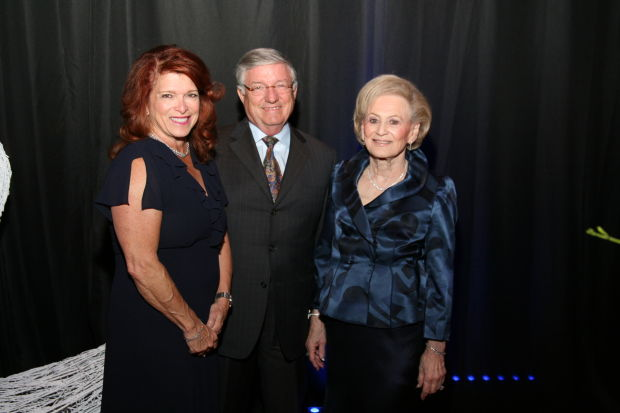 Kathie and Richard Winter, Joan Quicksilver