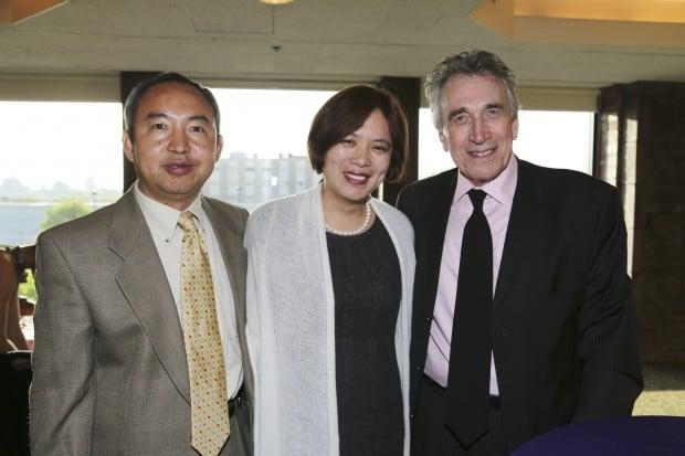 Jian Min, Sherry Ma, Jack Burke