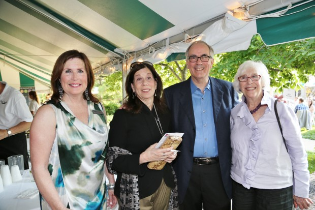 Cynthia Prost, Ellen Sheeberg, Dr. Jerry Rosenblum, Emily Pulitzer