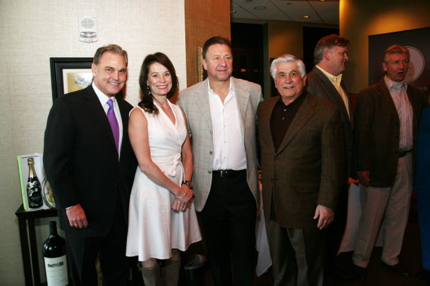 Joe Fresta Jr. Bernadette and Bernie Federko, Joe Fresta Sr.
