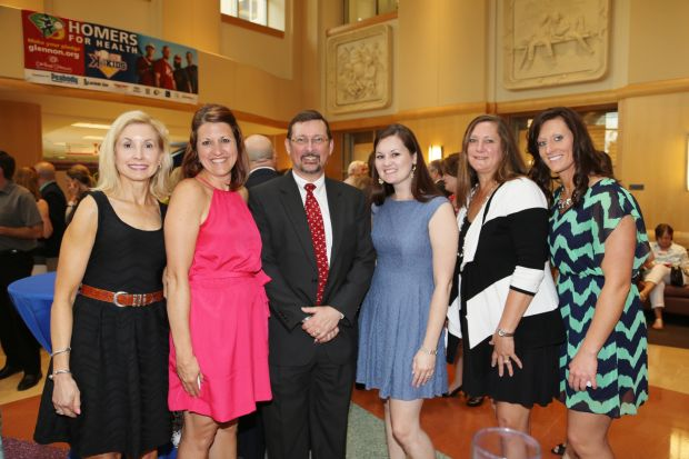 Katherine Maxwell, Michelle Romano, Dr. William Ferguson, Kate Kozemczak, Tina Re, Val Middendorf