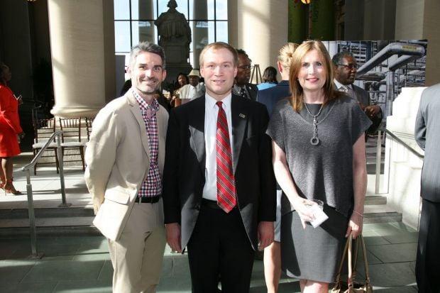 Rick Dildine, Peter Neidorff, Cynthia Prost