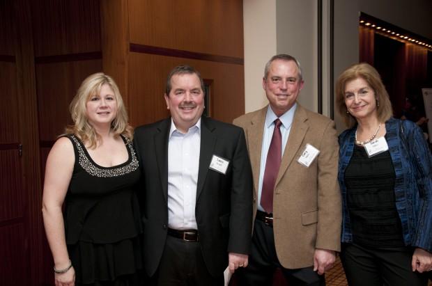 Jennifer and Lance Hewitt, Gary and Sarah Bilder