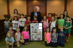 Keysor Elementary Students at Kirkwood City Hall