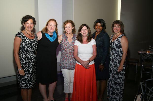 Linda Finerty, Lisa Greening, Jeanne Crawford, Diane Sinclair, Miriam Chapman, Nora Steele