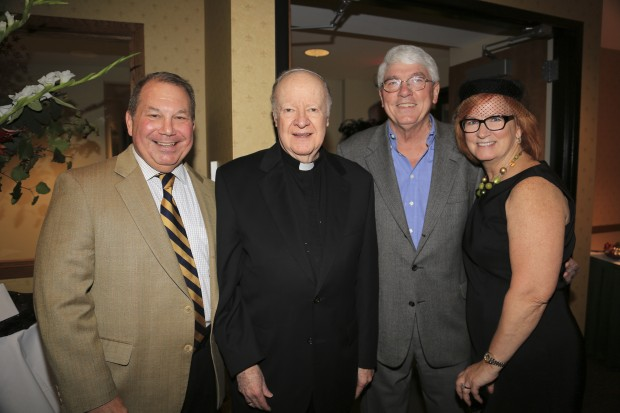 Paul Liberatore, Fr. Robert Osborne, Jim Holloran, Betsy Liberatore