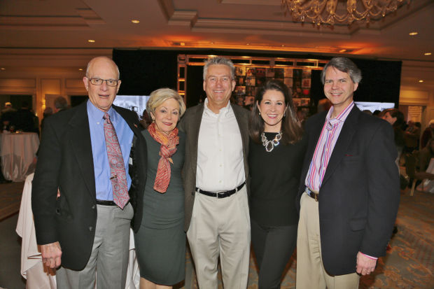 Warner and Helane Isaach, Andy Diehlmann, Kristin Connell, Terry Baer