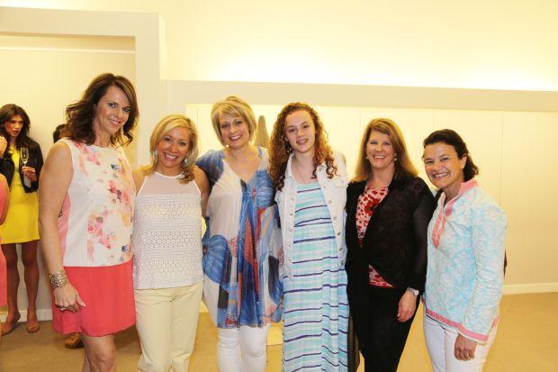 Julie Lambert, Sally Gelfman, DeAnn and Erin Bingaman, Barbara Hershfelt, Judy Glik